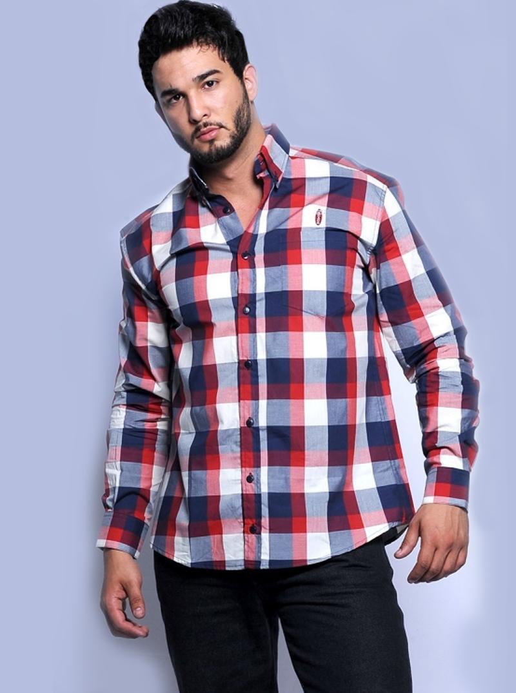 Camisa Masculina Ricardo  6f89c8c2e16