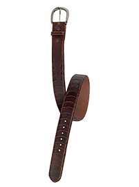 Cinto Escama Pull-Up Brown